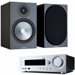 Onkyo R-N855 + Monitor Audio Bronze...