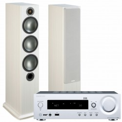 Onkyo R-N855 + Monitor Audio Bronze 6...