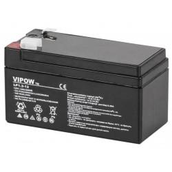 Vipow 12V 1.3Ah, Akumulator żelowy,...