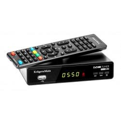 Kruger&Matz H.265 HEVC Tuner DVB-T2...