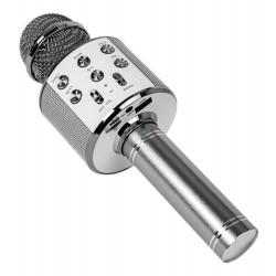 Blow PRM402 Mikrofon karaoke srebrny
