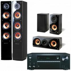Onkyo TX-NR575 + Pure Acoustics Nova...