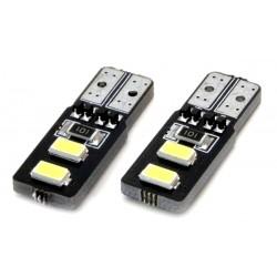 Żarówki LED CANBUS 4SMD 5730 T10...