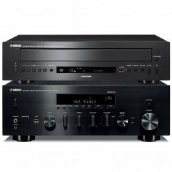 Yamaha R-N803D + CD-C600 Sieciowy...