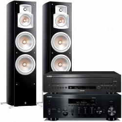 Yamaha R-N803D + CD-C600 + NS-777...