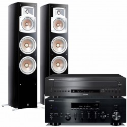 Yamaha R-N803D + CD-C600 + NS-555...