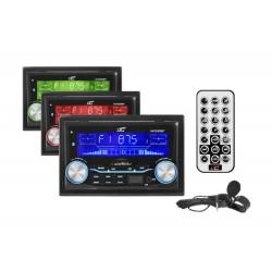 LTC AVX2000 Radio samochodowe 2DIN,...