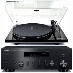 Yamaha R-N602 + Gramofon ESSENTIAL...