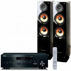 Yamaha R-N402D + Pure Acoustics Nova...
