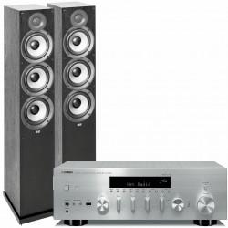 Yamaha R-N803D (Silver) + ELAC Debut...