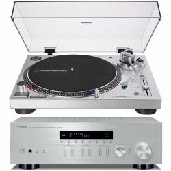 Yamaha R-N303D + Gramofon AT-LP120X...