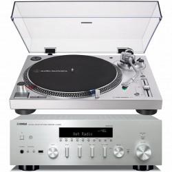 Yamaha R-N602 + Gramofon...