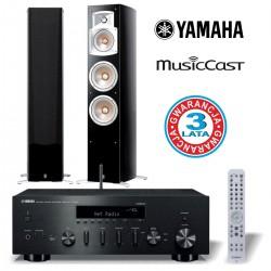 Sieciowy zestaw audiofilski Yamaha, Yamaha R-N602 + NS-555