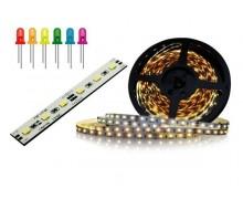 Taśmy, moduły oraz diody LED