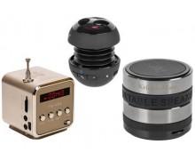 Głośniki BT, MP3, wibracyjne